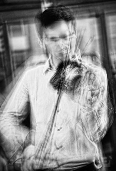A virtuóz hegedűművész