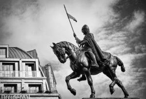 A Szent Vencel emlékmű Prágában